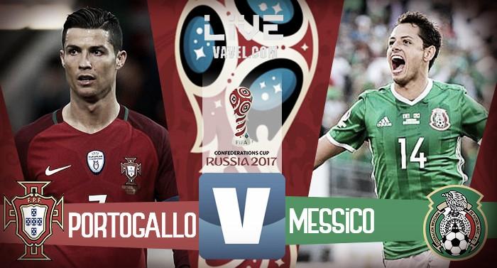 Portogallo-Messico in diretta, LIVE Confederations Cup 2017. E' terminata in parità la gara (2-2)
