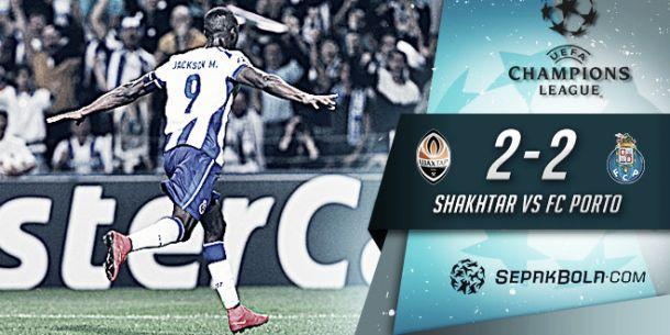 Shakhtar x Porto: empate para quem errou mas nunca desistiu