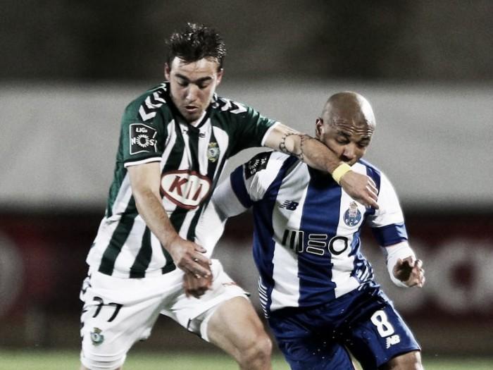 V. Setúbal x FC Porto: a ferro e chuva