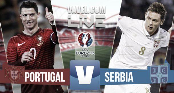 Live Portogallo - Serbia, diretta qualificazioni Euro 2016