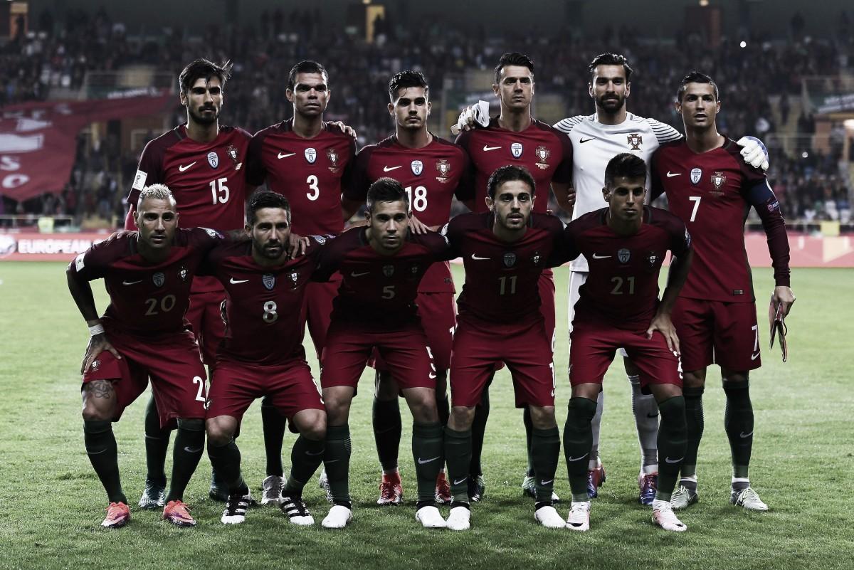 Análisis de los jugadores: Portugal