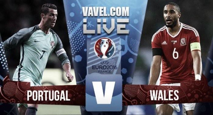 Resultado Portugal x País de Gales pela Eurocopa 2016 (2-0)