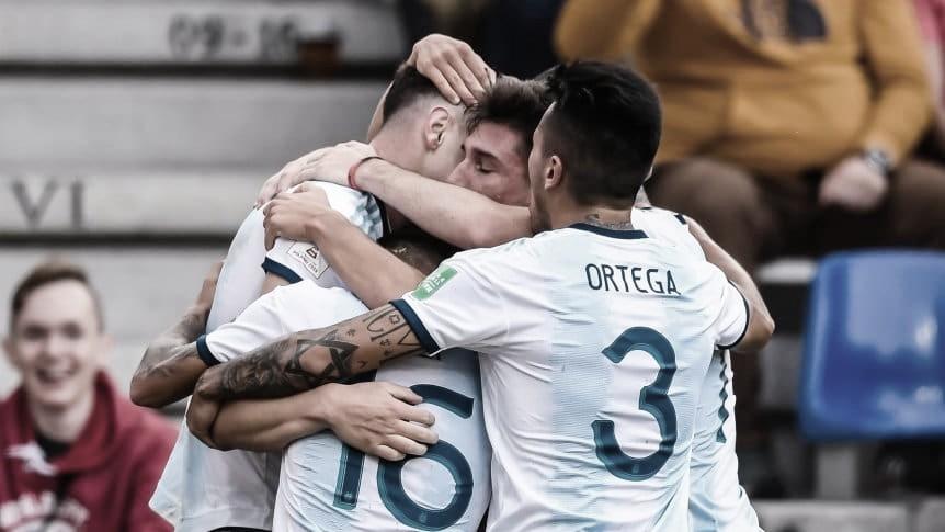 Argentina doblega a Portugal y califica a octavos