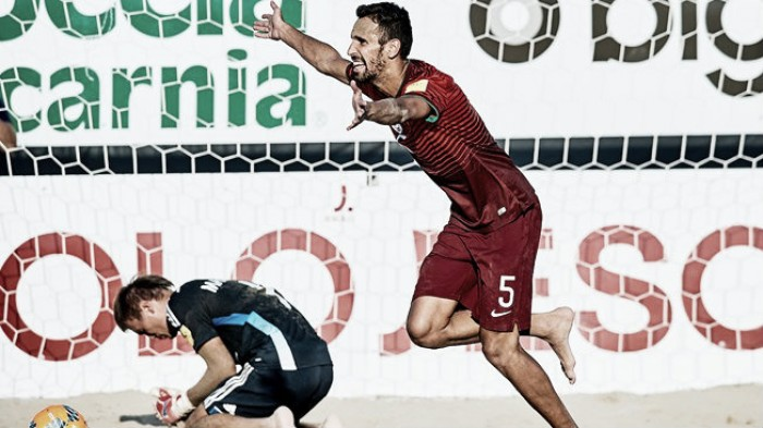 La selección de Portugal de Fútbol Playa quiere coronarse nuevamente