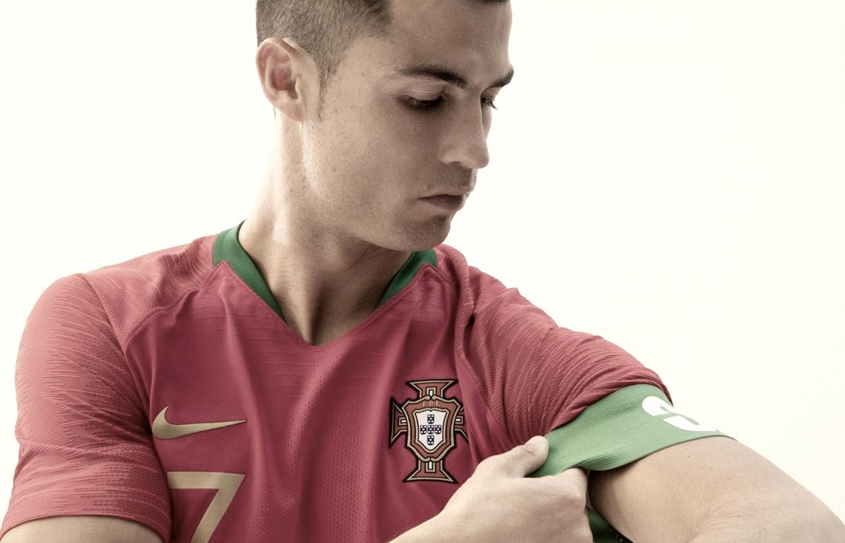 Portugal divulga novo uniforme para Copa do Mundo na Rússia