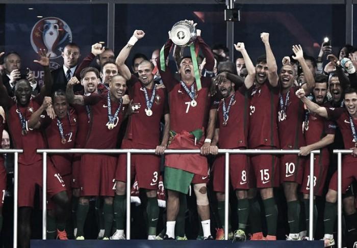 Com título de Portugal, Copa das Confederações tem sete dos oito participantes definidos