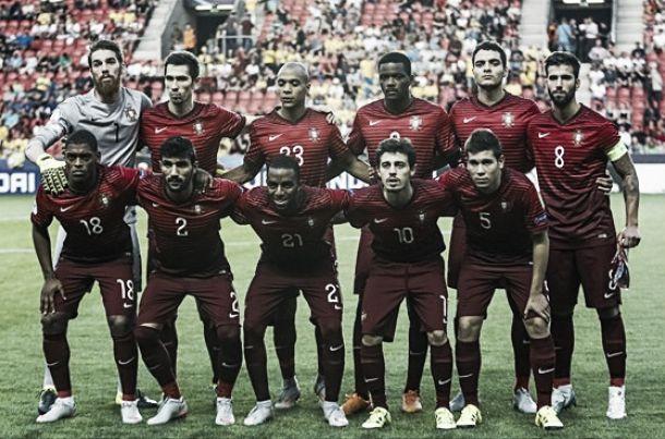 Cinco jugadores de Portugal en el once ideal de la Eurocopa sub-21