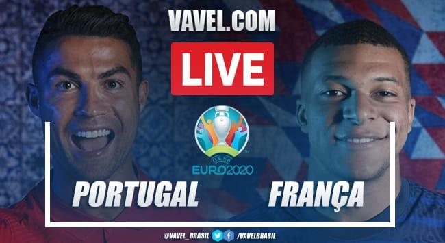 Gols e melhores momentos Portugal x França pela Eurocopa (2-2)