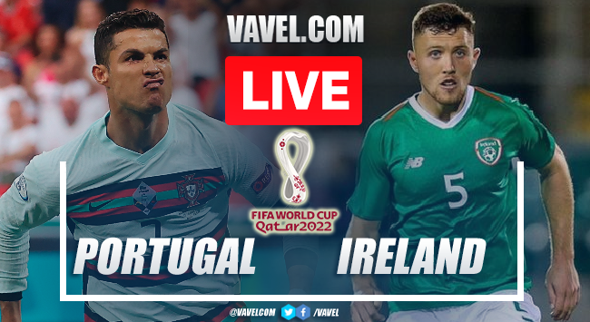 Goals and Highlights Portugal 2-1 Ireland in 2022 World Cup Qualifiers