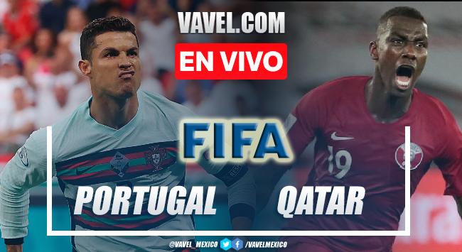 Goles y resumen del Portugal 3-0 Qatar en Partido Amistoso 2021