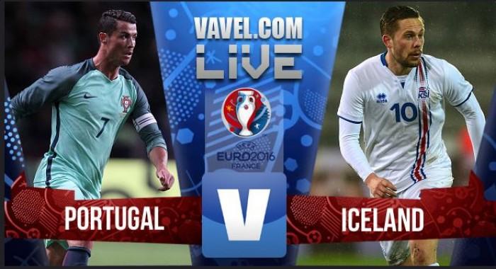 Terminado: Portugal x Islândia no Euro 2016 (1-1)
