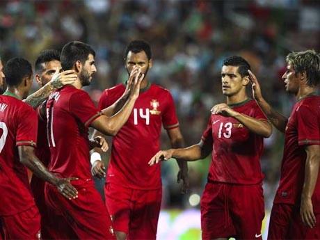 Nelson Oliveira y Cristiano Ronaldo firman la victoria de Portugal