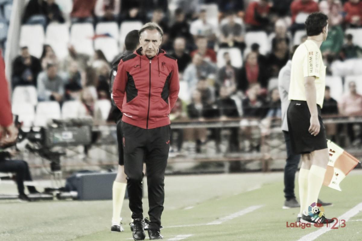 Análisis del entrenador, Miguel Ángel Portugal (Granada CF)