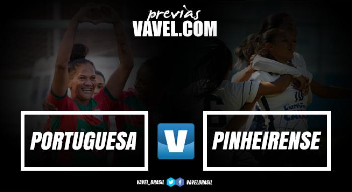Portuguesa e Pinheirense iniciam disputa pelo título inédito da A-2 do Brasileirão Feminino