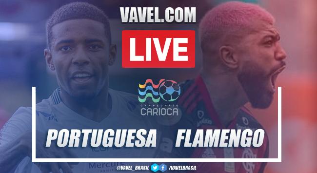 Gols e melhores momentos de Portuguesa-RJ 2 x 2 Flamengo pelo Campeonato Carioca 2021 (2-2)