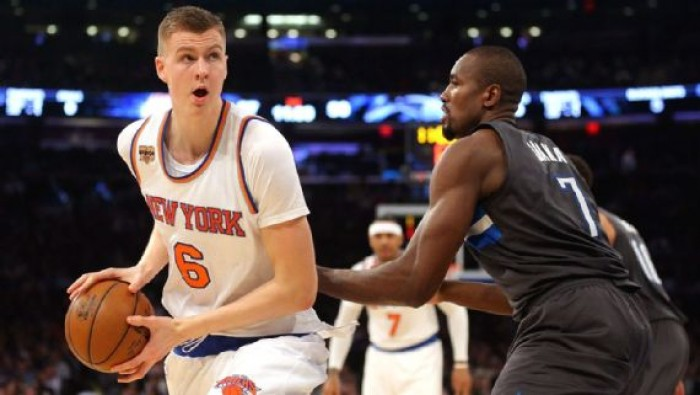 """NBA - New York Knicks, la voglia di Porzingis: """"Giocherò a Natale, così come tutte le 82 gare di Regular Season"""""""
