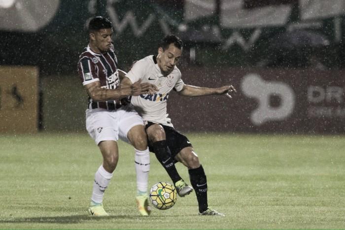 Fluminense sai na frente, mas Corinthians empata e decidirá em casa vaga na Copa do Brasil