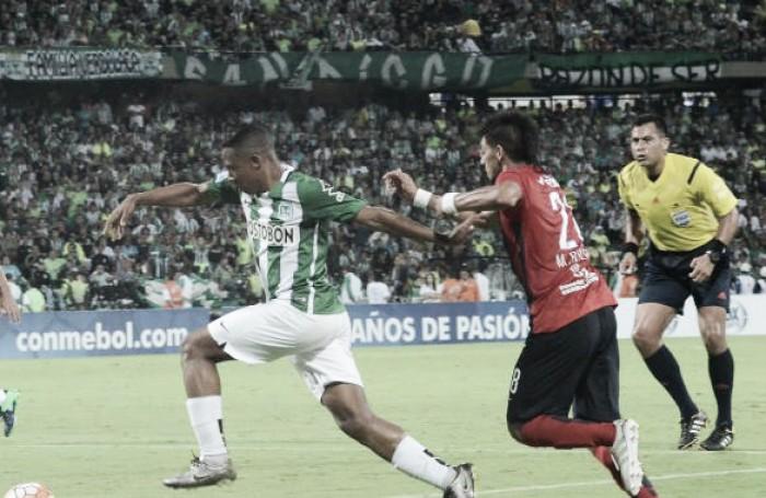 Atlético Nacional empata com Cerro e enfrenta a Chapecoense na final da Sul-Americana