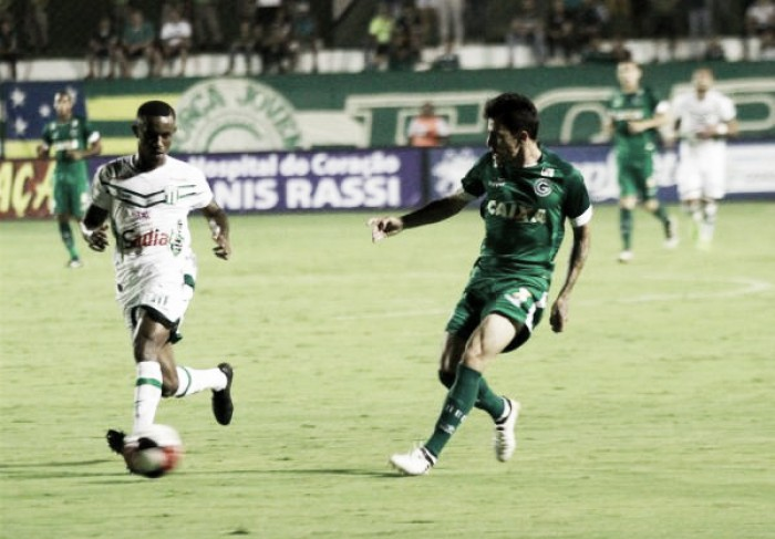 Com dois gols de Léo Gamalho, Goiás vence Rio Verde na Serrinha
