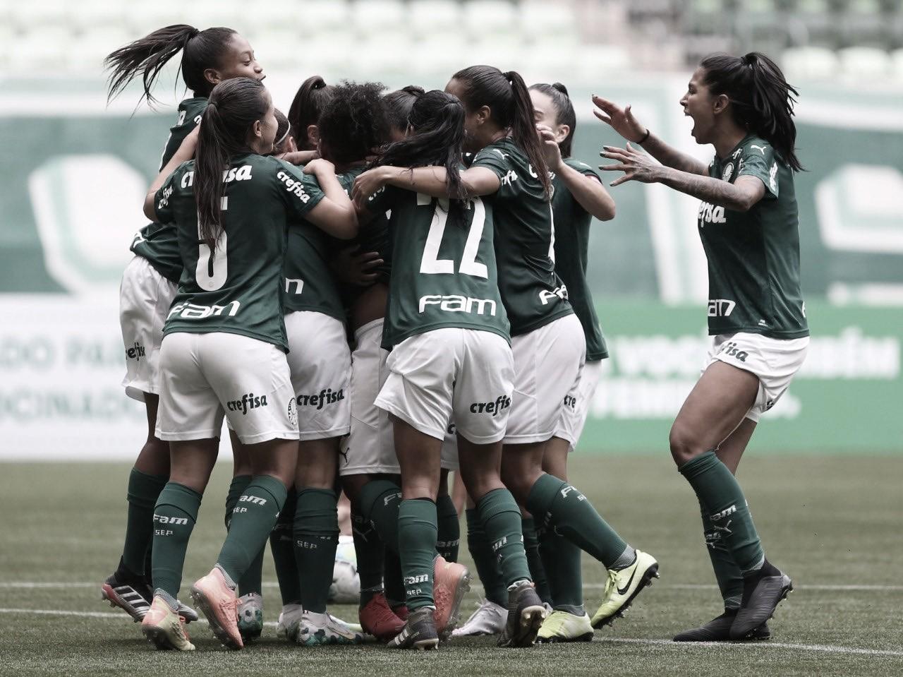 No Allianz Parque, Palmeiras vence Santos de virada pelo Brasileirão Feminino