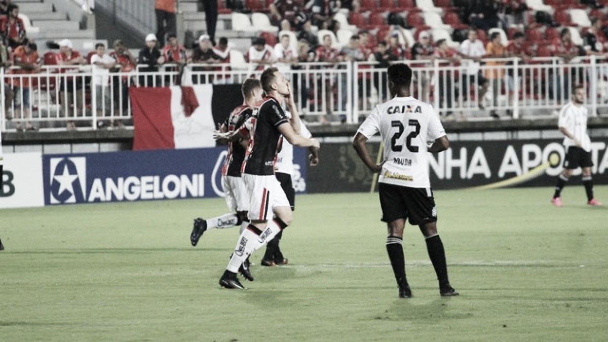 Joinville vence com gol de Rafael Grampola e acaba com invencibilidade do Figueirense