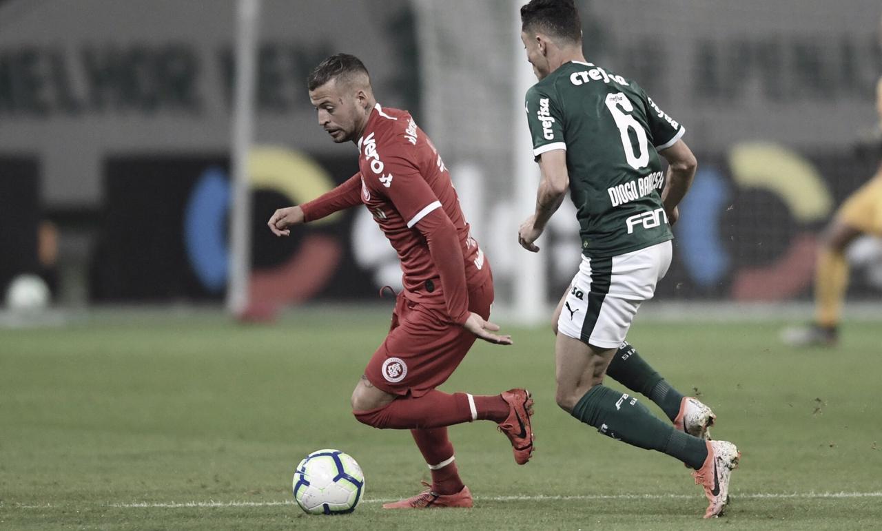 Palmeiras bate Internacional na ida das quartas pela Copa do Brasil