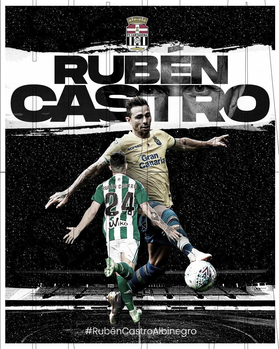Rubén Castro, una bomba en el Cartagonova