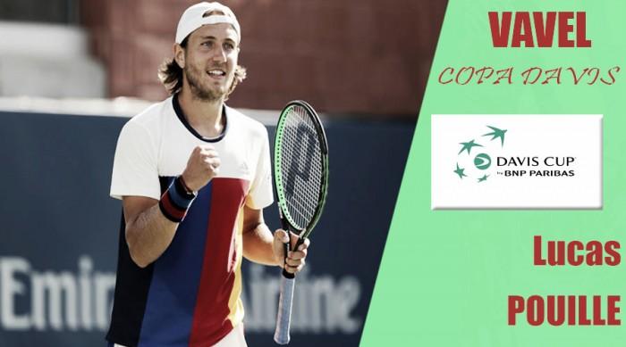 Copa Davis 2017. Lucas Pouille: el segundo de abordo