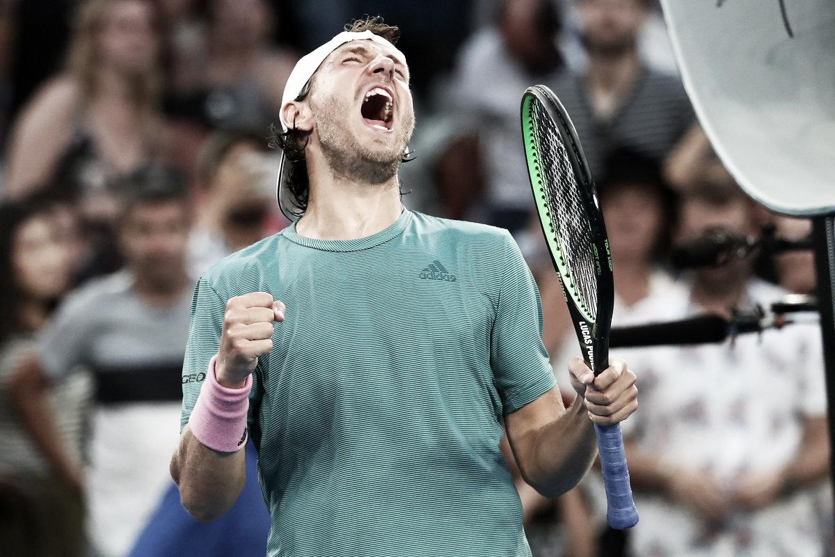 Pouille vira contra Coric e avança às quartas do Australian Open