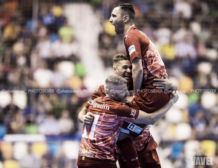 ElPozo Murcia derrota a Palma Futsal en el partido inaugural de la Copa de España