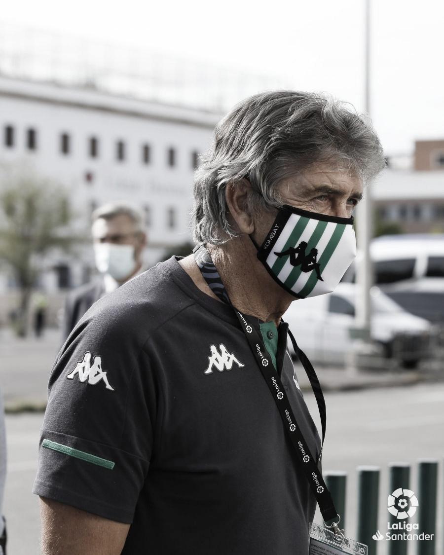 """Manuel Pellegrini: """"Debemos de tratar de ganar nuestro partido"""""""