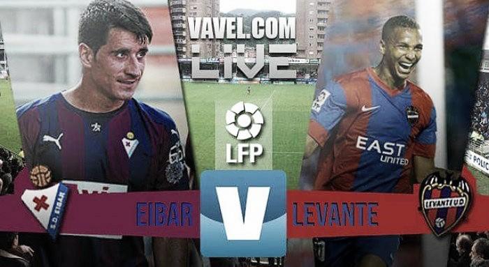 Un Eibar muy superior derrota a un ineficaz Levante