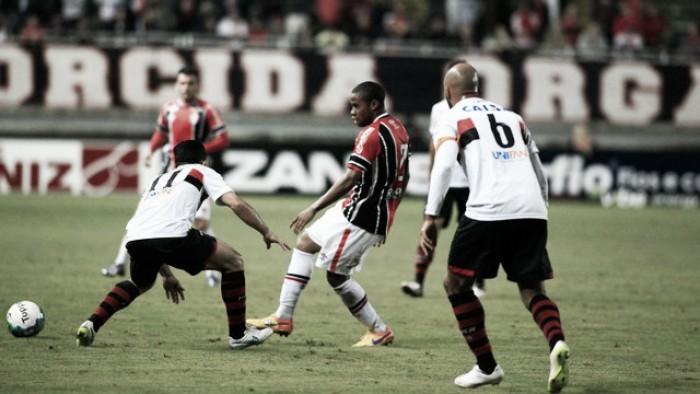 Atlético-GO e Joinville ficam no empate na reinauguração do Estádio Olímpico de Goiânia