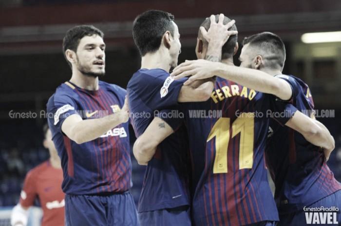 Victoria de oficio del Barça Lassa