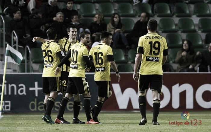 Elche CF - Real Zaragoza: puntuaciones del Real Zaragoza, jornada 31