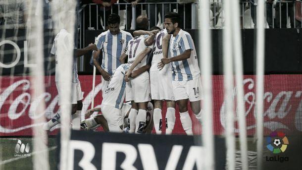 Málaga CF - Real Sociedad: puntuaciones Málaga CF, jornada 7 Liga BBVA
