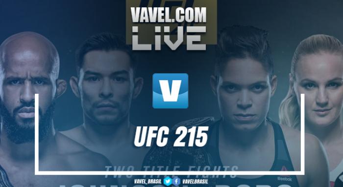 UFC ao vivo: Luta Amanda Nunes vs Valentina Shevchenko online no UFC 2015