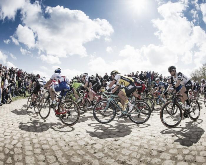 Greg Van Avermaet vince la Roubaix su Stybar. Quinto un grande Moscon