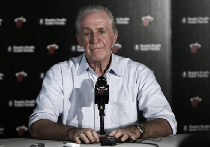"""Nba, Pat Riley: """"Ho sbagliato con Wade"""". Dubbi sul ritorno di Bosh"""