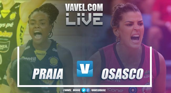 Resultado Dentil/Praia Clube x Osasco Audax pela Supercopa feminina de vôlei 2018(3-1)