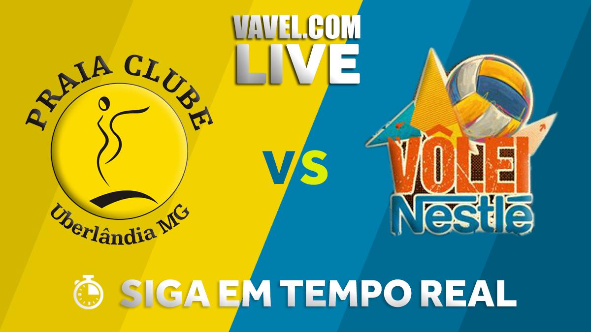 Resultado Praia Clube x Osasco pela semifinal da Superliga Feminina (3-1)