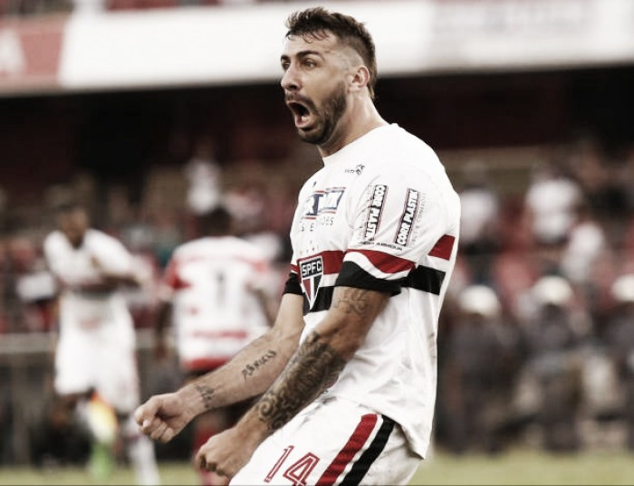 Pratto quer postura do Choque-Rei no duelo com o Atlético-MG