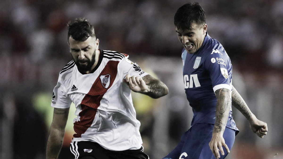 River y Racing vuelven a encontrarse en el Monumental
