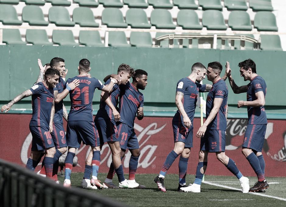 Atlético de Madrid sofre, mas supera Elche e segue líder em LaLiga