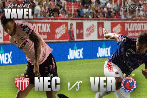 Previa Necaxa - Veracruz: en busca de su primer triunfo