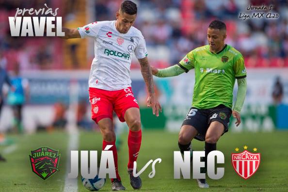 Previa FC Juárez - Necaxa: una rivalidad muy pareja