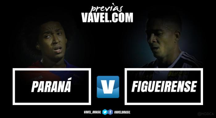 Paraná e Figueirense se enfrentam buscando reabilitação no campeonato