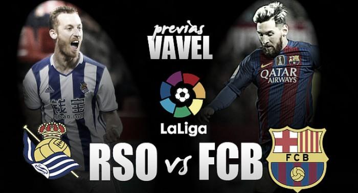 Previa Real Sociedad - Barcelona: una batalla en las alturas