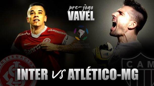 Internacional e Atlético-MG duelam por vaga nas quartas de final da Libertadores