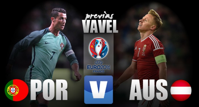 Precisando da vitória, Portugal e Áustria fecham segunda rodada da Eurocopa